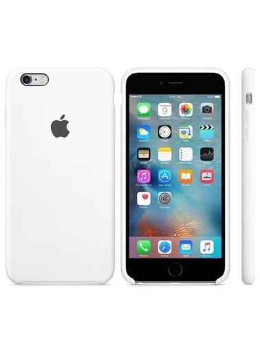 Jacobson iPhone 6/6S Plus Sert Silikon Kılıf Beyaz